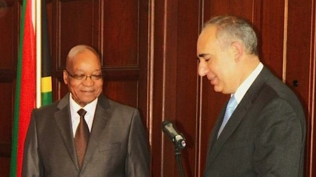 S. Africa water confab nixed over Israel envoy's participation | The Times of Israel