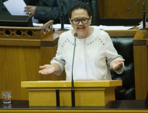 Joemat-Pettersson says nuclear is nonnegotiable due to water shortages