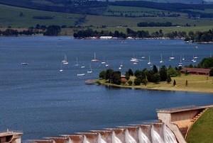 Midmar Dam. PHOTO MARK WING