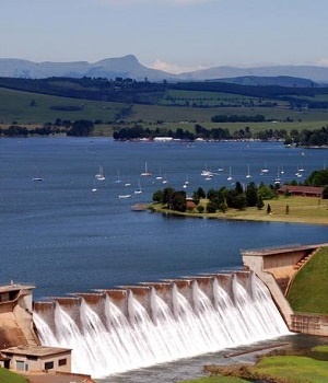 Midmar Dam. PHOTO MARK WING