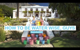 SuzelleDIY: How to be Water Wise, Guys (featuring Helen Zille) | eNCA
