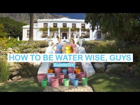 SuzelleDIY: How to be Water Wise, Guys (featuring Helen Zille) | eNCA